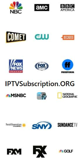 Subscription of IPTV